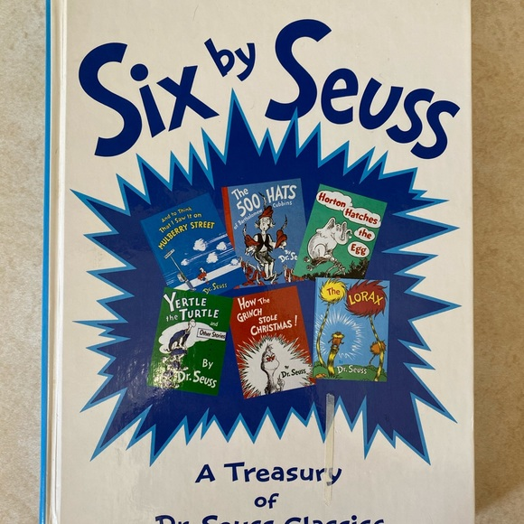 Dr Suess Six By Seuss - Mulberry Street Book